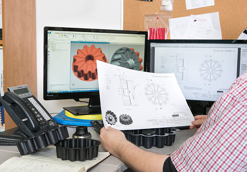 Drader thermoforming design and engineering