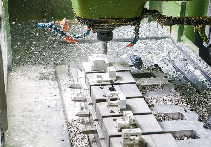 Drader Injection Molding machining